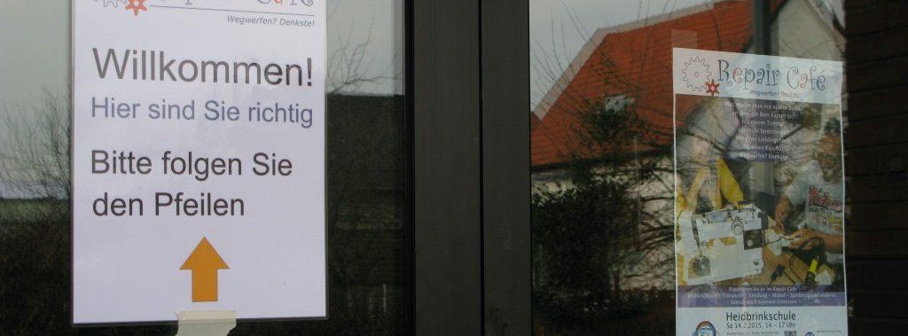 Willkommen Repair Café Besucher Termin